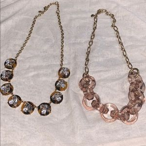 Lot 2 NWOT JCrew Necklaces